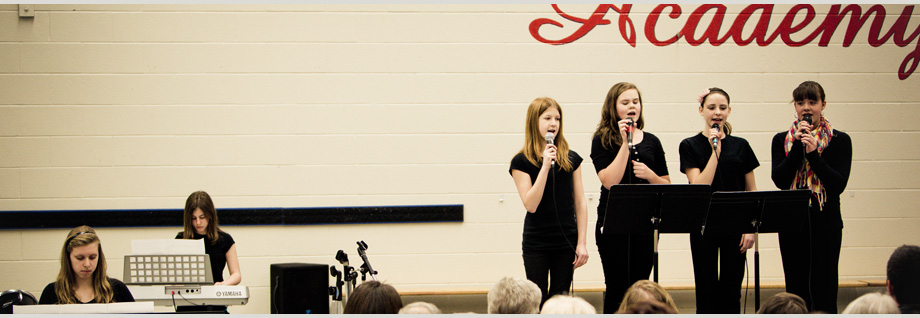 Music Music instruction is part of the regular course of study at each grade level. Students are given the opportunity to learn and progress in vocal as well as instrumental music.Read More